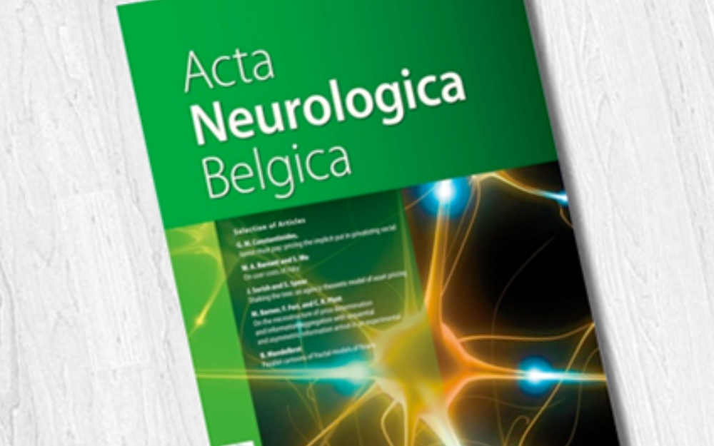 ACTA NEUROLOGICA BELGICA: AUTUMN CAMPAIGN TO MOST CITED & DOWNLOADED PAPERS IN 2017-2018