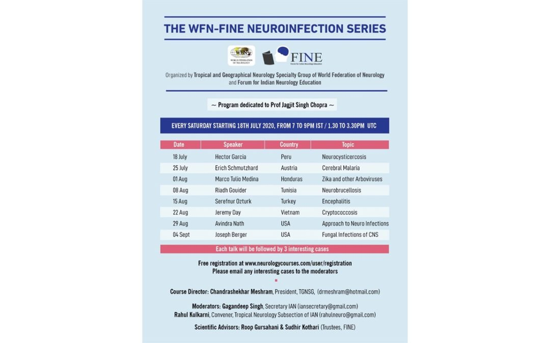 WFN Neuroinfection Webinar